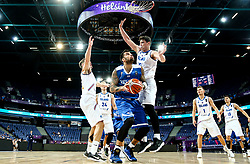 Georgios Printezis of Greece during basketball match between National Teams of Greece and Iceland at Day 1 of the FIBA EuroBasket 2017 at Hartwall Arena in Helsinki, Finland on August 31, 2017. Photo by Vid Ponikvar / Sportida