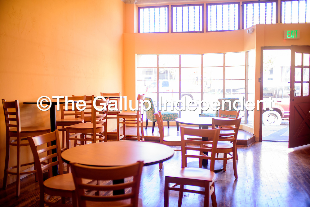 052815       Cable Hoover<br /> <br /> A fresh coat of paint and new furniture are some of the improvements awaiting customers at Gallup Coffee Company.