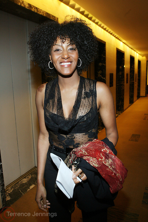 Sarah Jones at The 3rd Annual Black Girls Rock Awards held at the Rose Building at Lincoln Center in New York City on November 2, 2008..BLACK GIRLS ROCK! Inc. is a 501 (c)(3) nonprofit, youth empowerment mentoring organization established for young women of color.  Proceeds from ticket sales will benefit BLACK GIRLS ROCK! Inc.?s mission to empower young women of color via the arts.  All contributions are tax deductible to the extent allowed by