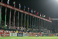 Action from the IRB Emirates Airline Dubai sevens 2007 tournament.