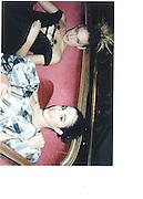 Gaia Trussardi, Clothilde d'Urso 1997 Crillon Haute Couture Ball One day before Crillon Hotel, Paris 28 Nov 97© Copyright Photograph by Dafydd Jones 66 Stockwell Park Rd. London SW9 0DA Tel 020 7733 0108 www.dafjones.com