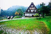 Hida Folk Village, Takayama, Gifu Prefecture, Japan