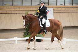 Karjalainene Katja, (FIN), Woikoshi High Flow<br /> Grade Ia Team Test<br /> Para-Dressage FEI European Championships Deauville 2015<br /> © Hippo Foto - Jon Stroud<br /> 18/09/15