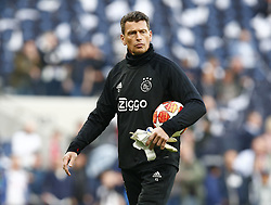 April 30, 2019 - London, England, United Kingdom - Goalkeeper coach: Carlo l'Ami of Ajax.during UEFA Championship League Semi- Final 1st Leg between Tottenham Hotspur  and Ajax at Tottenham Hotspur Stadium , London, UK on 30 Apr 2019. (Credit Image: © Action Foto Sport/NurPhoto via ZUMA Press)