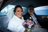 Bride Arriving Church