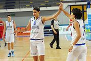 Frosinone, 24/05/2013<br /> Basket, Nazionale Italiana Femminile<br /> Amichevole<br /> Italia - Bulgaria<br /> Nella foto: sabrina cinili, giorgia sottana<br /> Foto Ciamillo