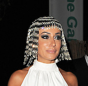 26.JUNE.2012. LONDON<br /> <br /> NANCY DELL'OLIO WEARING A CLEOPATRA WIG LEAVING THE SERPENTINE GALLERY AFTER ATTENDING THEIR ANNUAL SUMMER PARTY.<br /> <br /> BYLINE: EDBIMAGEARCHIVE.CO.UK<br /> <br /> *THIS IMAGE IS STRICTLY FOR UK NEWSPAPERS AND MAGAZINES ONLY*<br /> *FOR WORLD WIDE SALES AND WEB USE PLEASE CONTACT EDBIMAGEARCHIVE - 0208 954 5968*