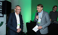 BUSSUM - NVG / NGF/ PGA congres 2018. The drive to happiness. Willem Zelsmann met Paul Baumann (Zelle)  COPYRIGHT KOEN SUYK