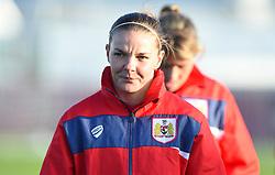 Loren Dykes of Bristol City Women - Mandatory by-line: Paul Knight/JMP - 17/11/2018 - FOOTBALL - Stoke Gifford Stadium - Bristol, England - Bristol City Women v Liverpool Women - FA Women's Super League 1