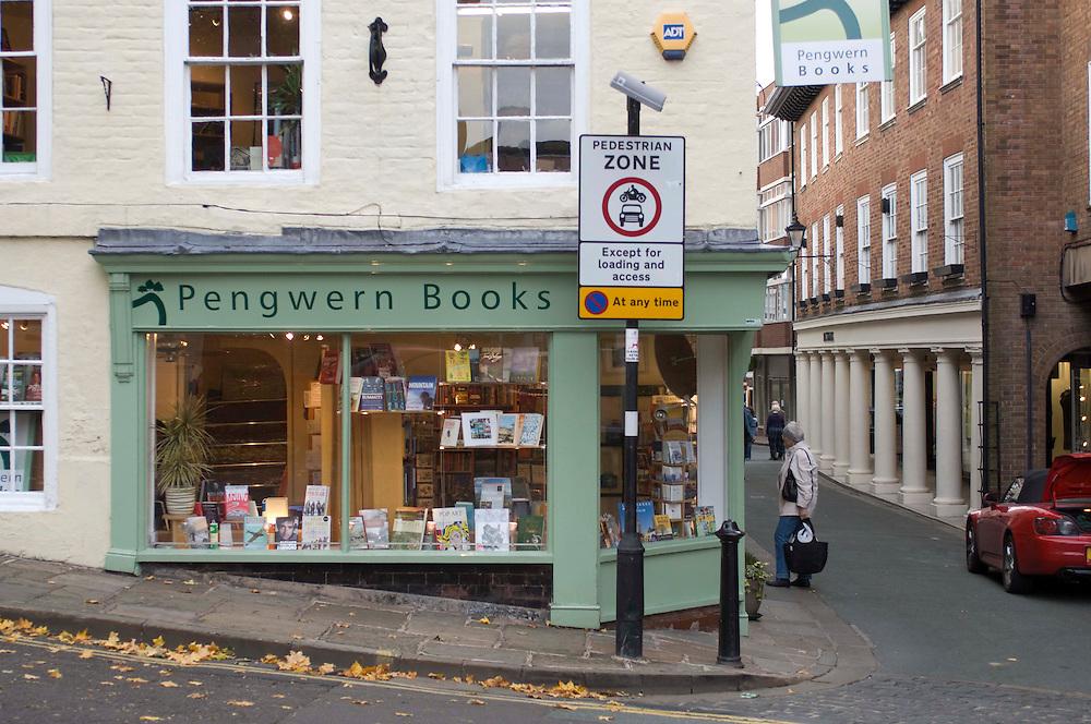 Pengwern Book shops Shrewsbury Shropshire, England