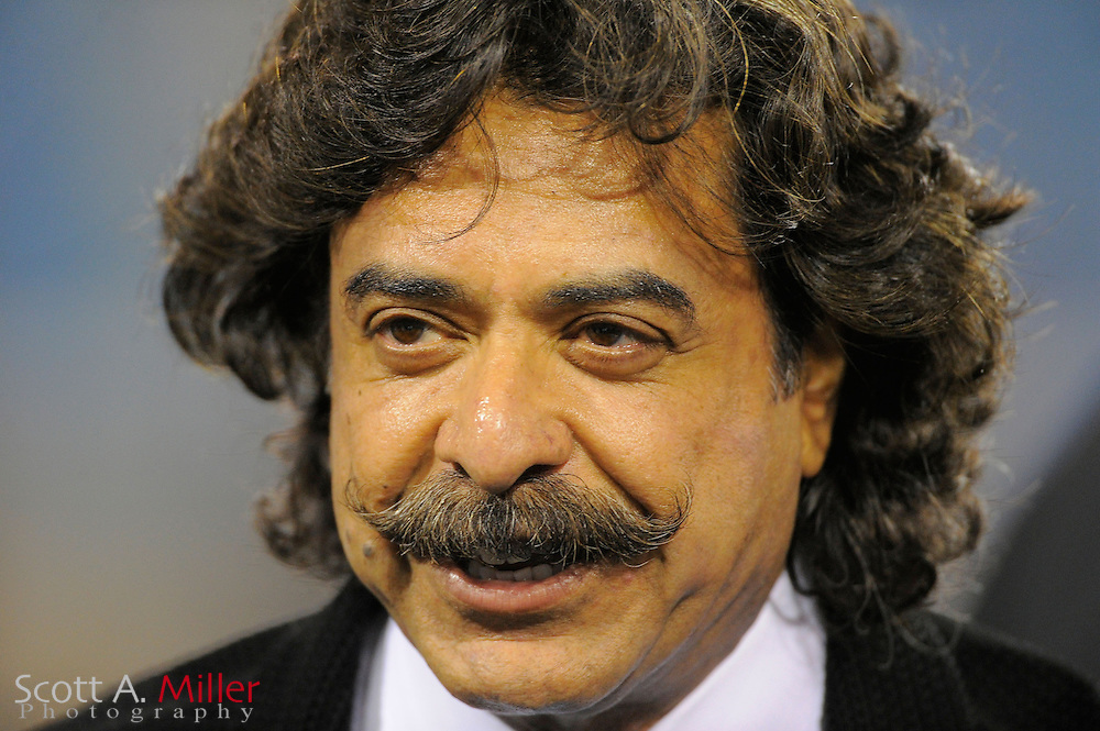 Jacksonville Jaguars owner Shahid Khan before an NFL football game between the Jacksonville Jaguars and the Indianapolis Colts at EverBank Field on November 8, 2012 in Jacksonville, Florida.  The Colts won 27-10. .©2012 Scott A. Miller..