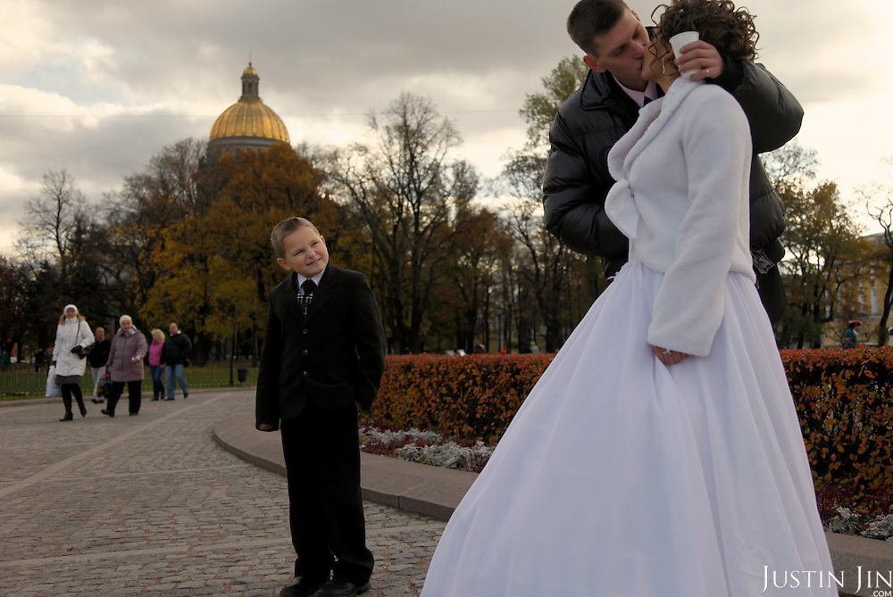 Wedding in St Petersburg.
