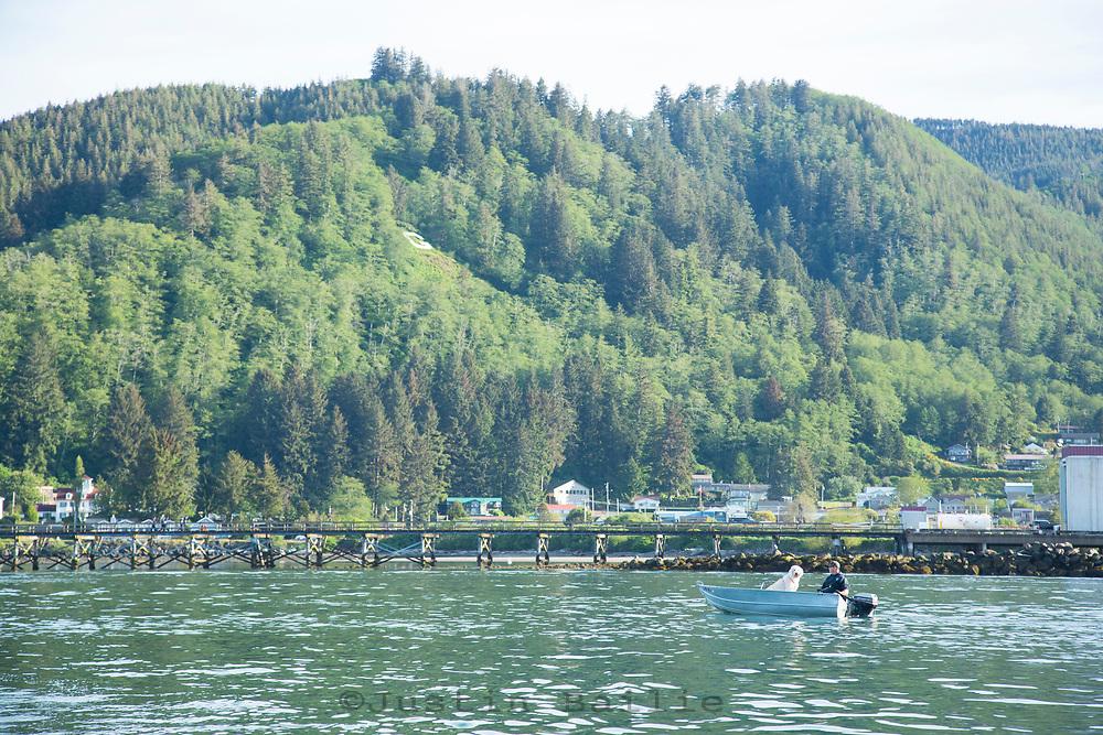 Tillamook Bay, Oregon.