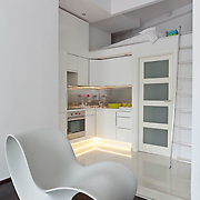 Very small bright apartment in Warsaw Poland