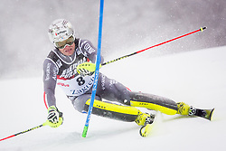 """Julien Lizeroux (FRA) during FIS Alpine Ski World Cup 2016/17 Men's Slalom race named """"Snow Queen Trophy 2017"""", on January 5, 2017 in Course Crveni Spust at Sljeme hill, Zagreb, Croatia. Photo by Ziga Zupan / Sportida"""