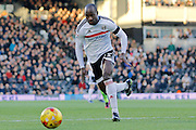 Fulham striker Sone Aluko (24) during the EFL Sky Bet Championship match between Fulham and Reading at Craven Cottage, London, England on 3 December 2016. Photo by Andy Walter.