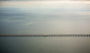 clouds over Lake Pontchartrain Causeway