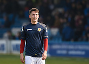 Crewe forward Tom Hitchcock before the Sky Bet League 1 match between Gillingham and Crewe Alexandra at the MEMS Priestfield Stadium, Gillingham, England on 12 March 2016. Photo by David Charbit.