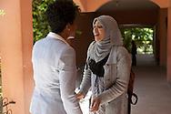 Morroco,Marrakesh, univeriste Cadi Ayyad, litterature university, mme Ouidad Tebbaa, doyenne