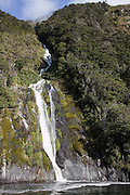 Milford Sound, waterfall