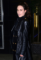 Tallulah Harlech attends 'The Director: An Evolution In Three Acts' UK film premiere, a documentary about Frida Giannini, who joined the house of Gucci as Head of Women's Accessories in 2004 at Curzon Mayfair, London, United Kingdom. Tuesday, 8th April 2014. Picture by Nils Jorgensen / i-Images