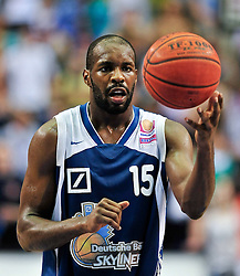 09.06.2010, Ballsporthalle, Frankfurt, GER, 1.BBL - Play Off Finale, Deutsche Bank Skyliners vs Brose Baskets Bamberg, im Bild Derrick Allen (Skyliners USA #15),  EXPA Pictures © 2010, PhotoCredit: EXPA/ nph/  Roth / SPORTIDA PHOTO AGENCY