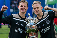 20190505 NED: Cup Final Ceremony Willem II - Ajax, Rotterdam