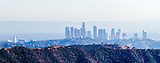 Los Angeles Skyline in the Smog