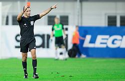 Referee Damir Skomina during football match between NK Celje and NK Domzale in 11th Round of Prva liga Telekom Slovenije 2014/15, on September 27, 2014 in Arena Petrol, Celje, Slovenia. Photo by Vid Ponikvar / Sportida.com