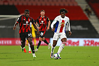 Football - 2019 / 2020 EFL Cup - Round 2 -AFC Bournemouth vs. Crystal Palace <br /> <br /> Eberechi Eze of Crystal Palace and Bournemouth's Nnamdi Ofoborh in action during the EFL Cup tie at the Vitality Stadium (Dean Court) Bournemouth  <br /> <br /> COLORSPORT/SHAUN BOGGUST
