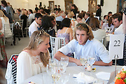 TILDA WOODD; CHARLIE HANBURY, The Dalwhinnie Crook  charity Polo match  at Longdole  Polo Club, Birdlip  hosted by the Halcyon Gallery. . 12 June 2010. -DO NOT ARCHIVE-© Copyright Photograph by Dafydd Jones. 248 Clapham Rd. London SW9 0PZ. Tel 0207 820 0771. www.dafjones.com.