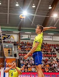 20-05-2018 NED: Netherlands - Slovenia, Doetinchem<br /> First match Golden European League / Matic Videcnik #15 of Slovenia