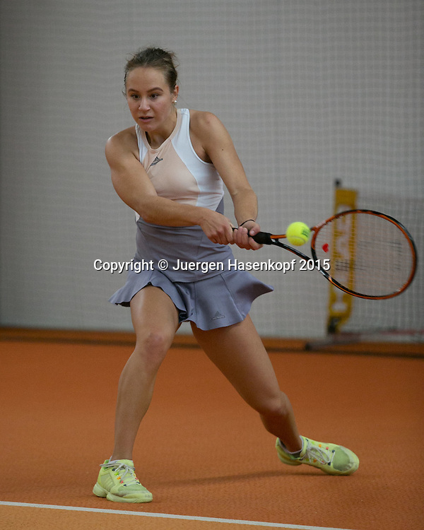 Ribana Roth (GER)<br /> <br /> Tennis - Ismaning Open 2015 - ITF 10.000 -  TC Ismaning - Ismaning - Bavaria - Germany - 30 October 2015. <br /> &copy; Juergen Hasenkopf