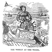 The Ladies of the Creation; Or, how I was cured of being a strong-minded woman. The Woman at the Wheel.