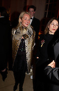 Amanda Elliasch and Mrs. Simon Lee. -Mario Testino, Bianca Jagger and Kenneth Cole celebrate Women to Women: Positively Speaking. - A publication to raise awareness of women living with Aids. The Orangery, Kensington Palace. 2 December 2004. ONE TIME USE ONLY - DO NOT ARCHIVE  © Copyright Photograph by Dafydd Jones 66 Stockwell Park Rd. London SW9 0DA Tel 020 7733 0108 www.dafjones.com