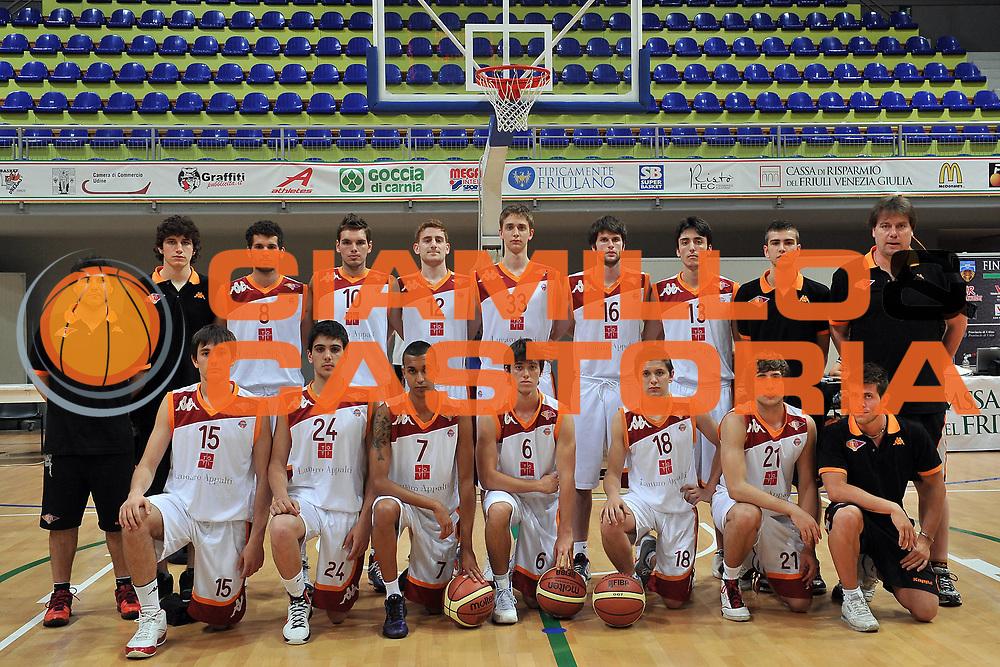 DESCRIZIONE : Cividale del Friuli Udine Finali Giovanili Nazionali Under 19 Virtus Roma Treviso<br /> GIOCATORE : Virtus Roma<br /> SQUADRA : Virtus Roma<br /> EVENTO : Finali Giovanili Nazionali Under 19<br /> GARA : Virtus Roma Treviso<br /> DATA : 31/05/2011<br /> CATEGORIA : Team<br /> SPORT : Pallacanestro<br /> AUTORE : Agenzia Ciamillo-Castoria/S.Ferraro<br /> Galleria : Lega Basket A 2010-2011<br /> Fotonotizia : Cividale del Friuli Udine Finali Giovanili Nazionali Under 19 Virtus Roma Treviso<br /> Predefinita :