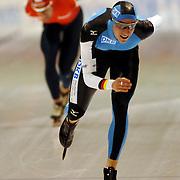 NLD/Heerenveen/20051204 - World Cup schaatsen 2005, Gianni Romme dubbeld Robert Lehmann
