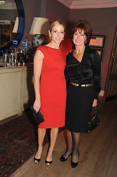 Left to right, GABBY LOGAN and her mother CHRISTINE YORATH at the Andrew Martin 2008 International Interior Designer of the Year Award held at The Haymarket Hotel, 1 Suffolk Place, London SW1 on 22nd September 2008.