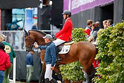 Tebbel, Maurice (GER);<br /> Tebbel, Rene (UKR) Chaccos´ Son<br /> Göteborg - European Championships 2017<br /> © www.sportfotos-lafrentz.de/Stefan Lafrentz