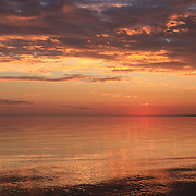 &quot;Magnificent Sunset&quot;<br /> <br /> Beautiful sunset with reflections over Lake Michigan!