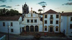 Igreja de Nossa Senhora das Neves - conjunto arquitetônico do Convento de São Francisco. Primeiro estabelecimento franciscano do Brasil erguido em 1585. FOTO: Jefferson Bernardes/ Agência Preview