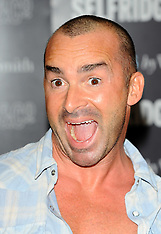 Louie Spence Book signing
