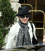 10.JULY.2009. PARIS<br /> <br /> POP DIVA MADONNA LEAVING THE RITZ HOTEL PARIS WITH HER CHILDREN ROCCO, DAVID AND NEWEST RECRUIT MERCY JAMES.<br /> <br /> BYLINE: EDBIMAGEARCHIVE.COM<br /> <br /> *THIS IMAGE IS STRICTLY FOR UK NEWSPAPERS AND MAGAZINES ONLY*<br /> *FOR WORLD WIDE SALES AND WEB USE PLEASE CONTACT EDBIMAGEARCHIVE - 0208 954 5968*