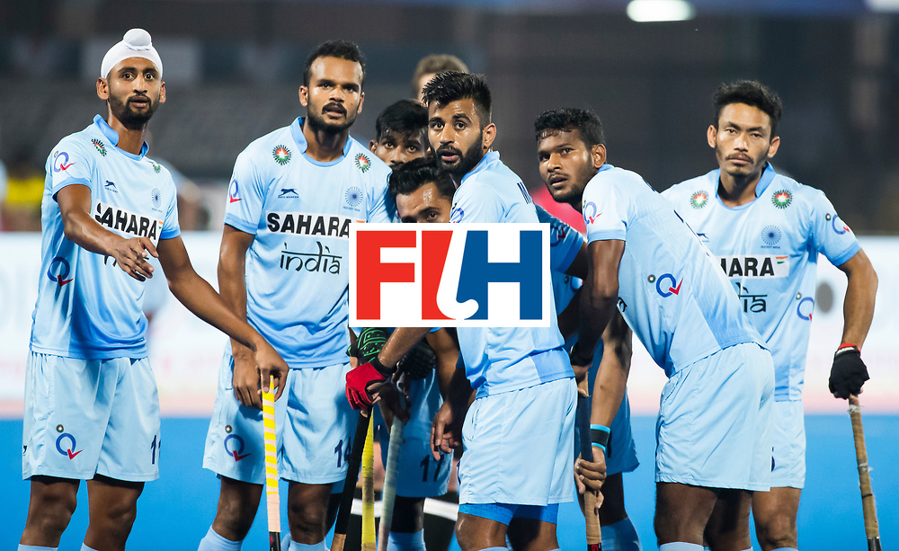 BHUBANESWAR - Manpreet Singh (Ind) Hockey World League finals Match for bronze , Germany v India (1-2). COPYRIGHT KOEN SUYK