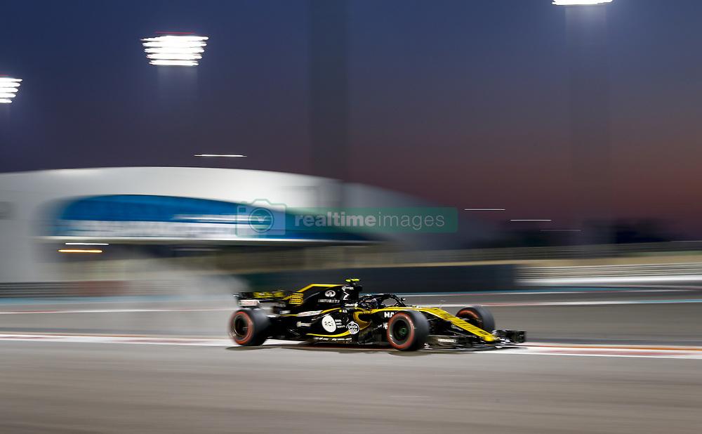 November 23, 2018 - Abu Dhabi, United Arab Emirates - Motorsports: FIA Formula One World Championship 2018, Grand Prix of Abu Dhabi, World Championship;2018;Grand Prix;Abu Dhabi, #55 Carlos Sainz (ESP, Renault  (Credit Image: © Hoch Zwei via ZUMA Wire)