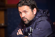 Dundee manager Paul Hartley talks to the press<br /> <br />  - &copy; David Young - www.davidyoungphoto.co.uk - email: davidyoungphoto@gmail.com