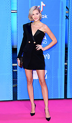 Mandy Bork attending the MTV Europe Music Awards 2018 held at the Bilbao Exhibition Centre, Spain