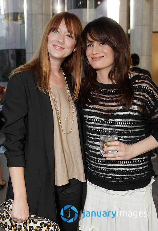 """BEVERLY HILLS, CA - JUNE 06:  Judy Greer and Elizabeth Reaser attend a Fox Searchlight screening Of """"The Art Of Getting By"""" at Clarity Theater on June 6, 2011 in Beverly Hills, California.  (Photo by Todd Williamson/WireImage)"""