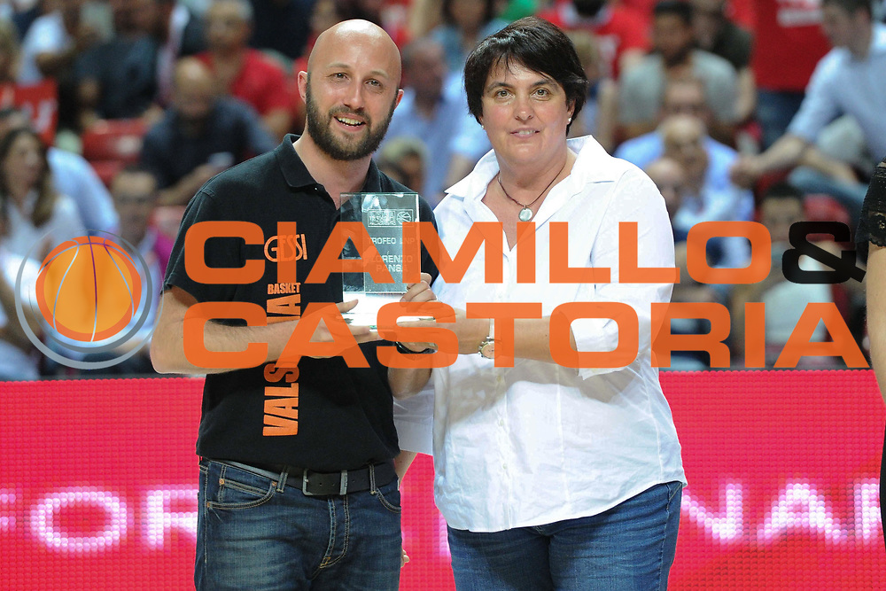 LNP &ndash; Final Four Serie B - UNIEURO FORLI vs GSA UDINE<br /> <br /> Nella foto: premiazione Lorenso Pansa