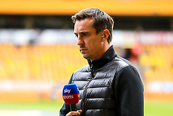 Sky Sports pundit and Former Manchester United player Gary Neville - Mandatory by-line: Robbie Stephenson/JMP - 25/08/2018 - FOOTBALL - Molineux - Wolverhampton, England - Wolverhampton Wanderers v Manchester City - Premier League